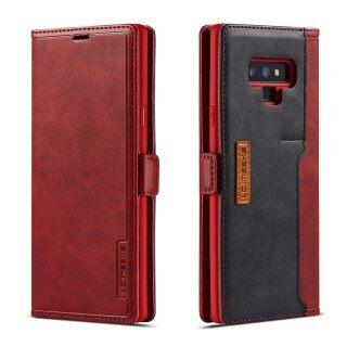 Ốp Điện Thoại Cho Samsung Galaxy Note 9 Ốp Lật Đựng Thẻ Phong Cách Doanh Nhân Sang Trọng Bằng Da thumbnail