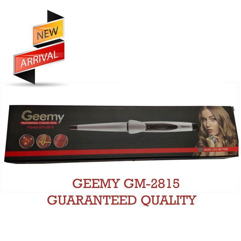 GEEMY PROSESSIONAL CURLING IRON  GM-2815