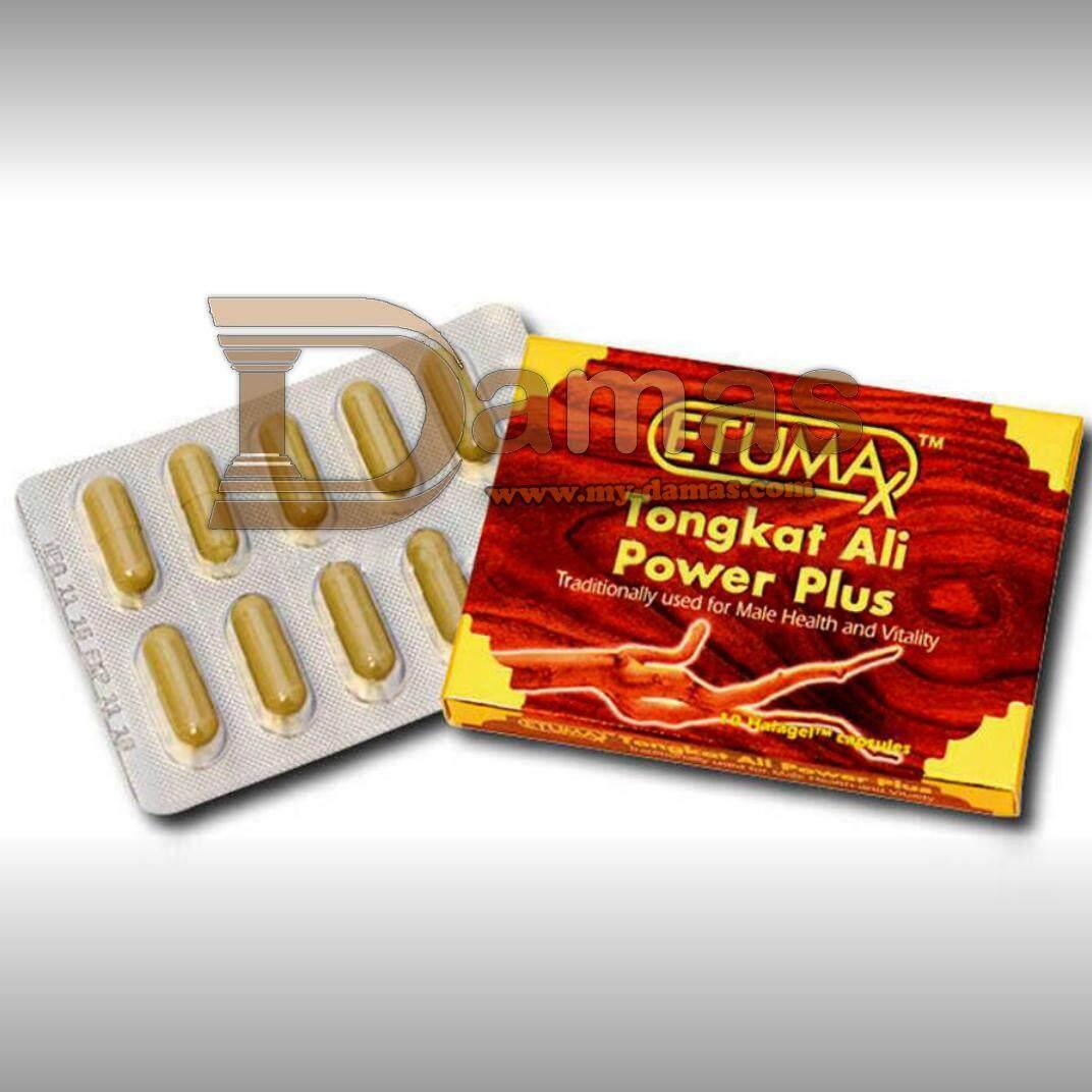 Etumax Herbal Plus (10 Capsules) Tongkat Ali Power Plus, improve men stamina, Provide Energy.