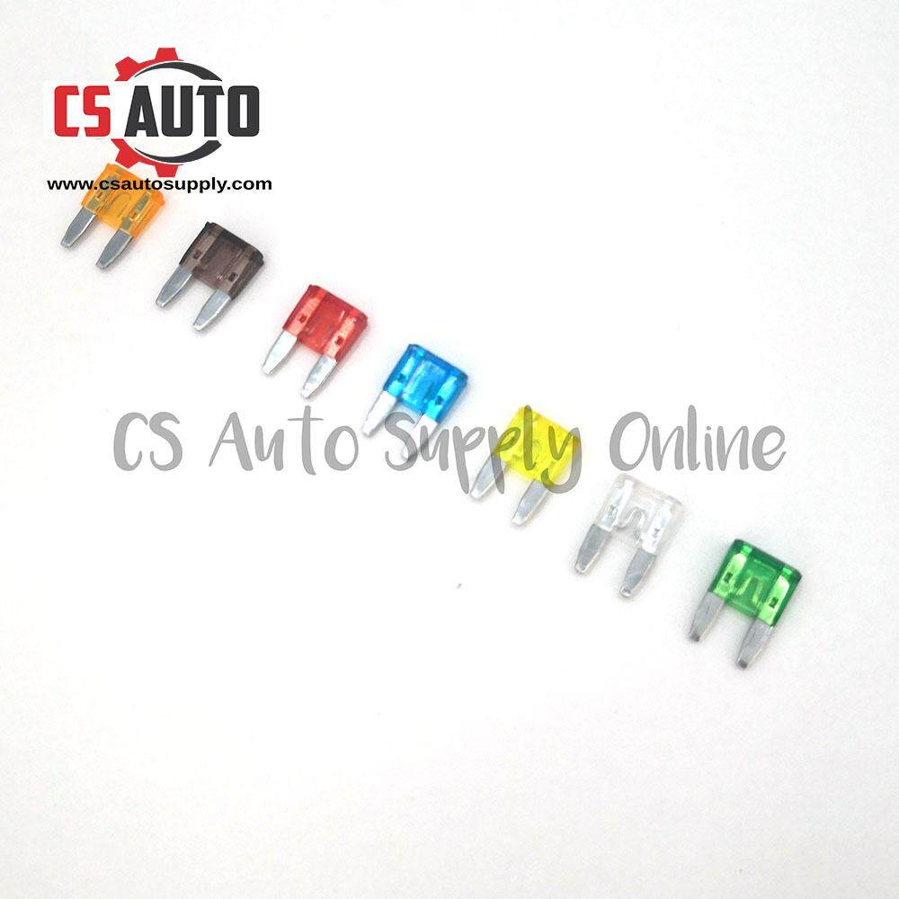 5pcs Small Mini Blade Fuse 5a 10a 15a 20a 25a universal all purpose (assorted)