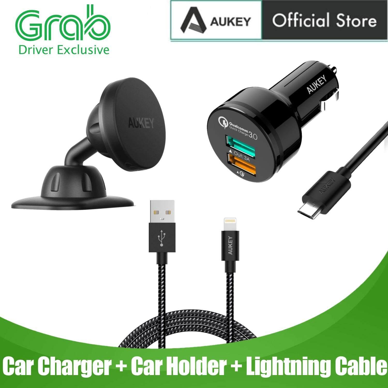 Tronsmart C24 24W Dual USB Port 4.8A Car Charger W// VoltiQ For iPhone Samsung !