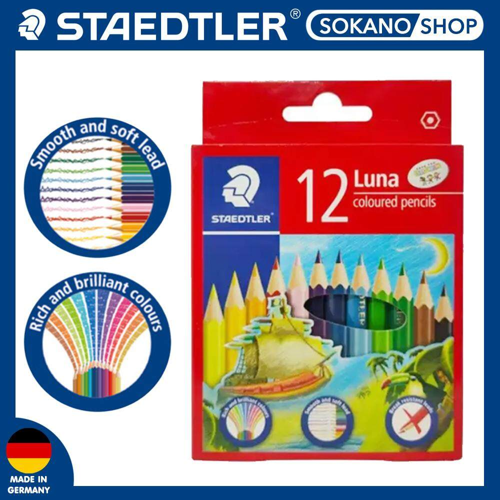 Staedtler Luna Colour 12s Short / Color/ Pencils