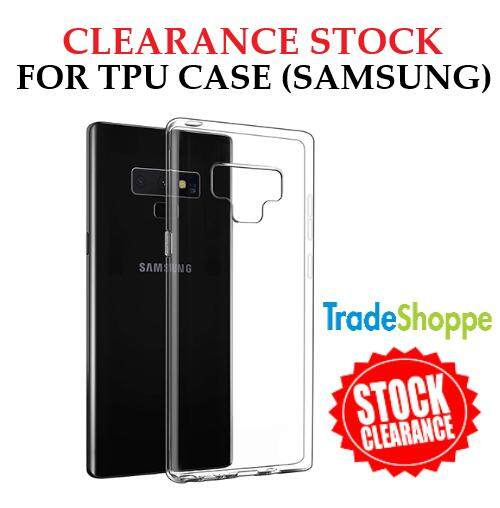 [CLEARANCE STOCK] TPU Silicone Gel Soft Case for Samsung Galaxy J3 Pro J5 J7, S6 S6 Edge S7 S7 Edge, Note 3 4 6 7, A8 (Transparent)