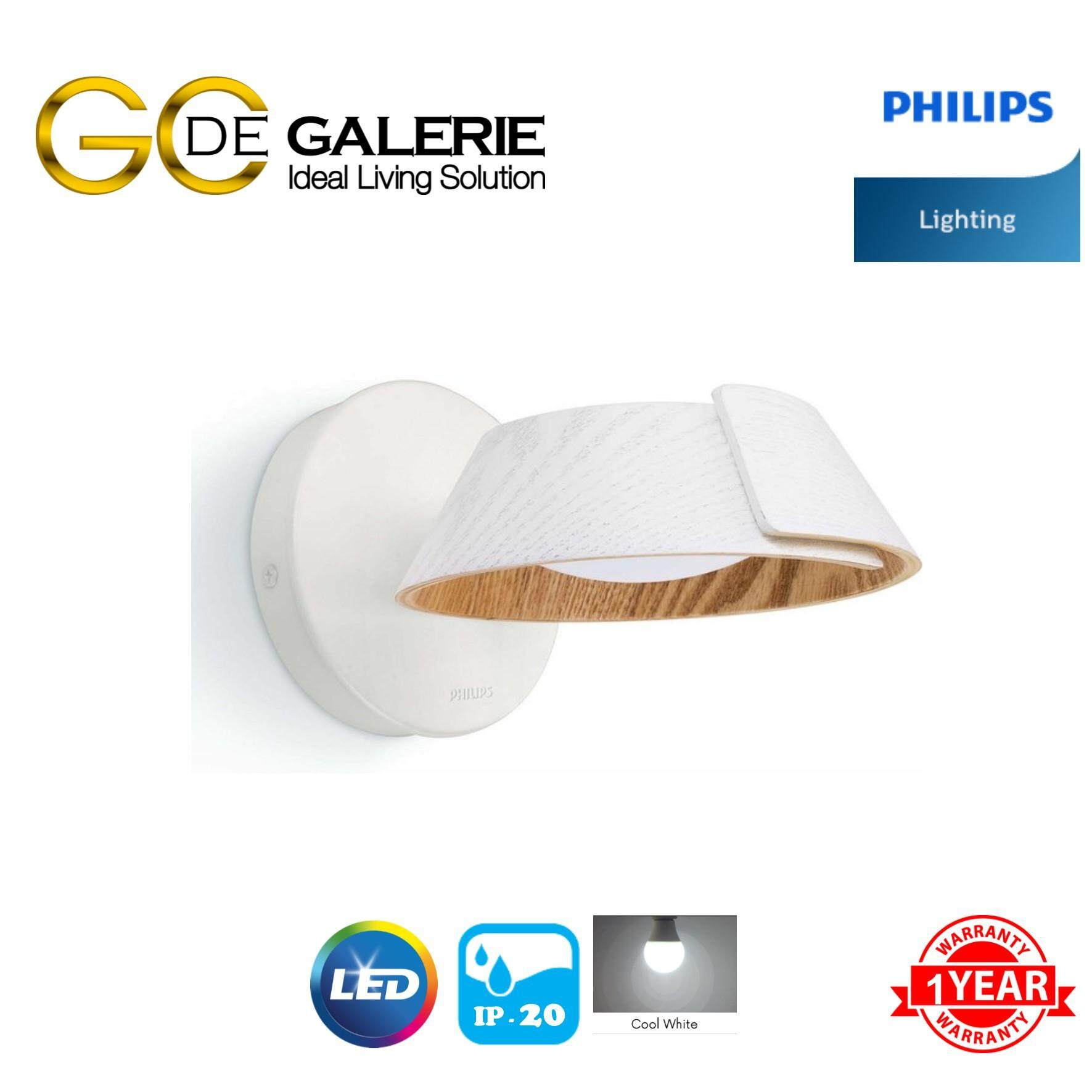 WALL LIGHT LED PHILIPS 49022 EMBRACE WH