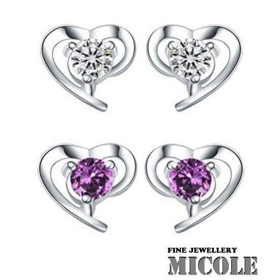 Micole E5012 Korean Style Women Elegant Earrings