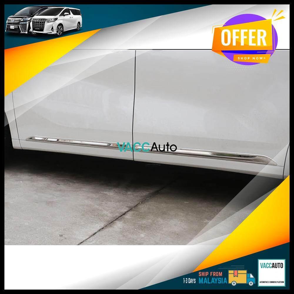 Toyota Alphard / Vellfire (AH30) Door Moulding Chrome