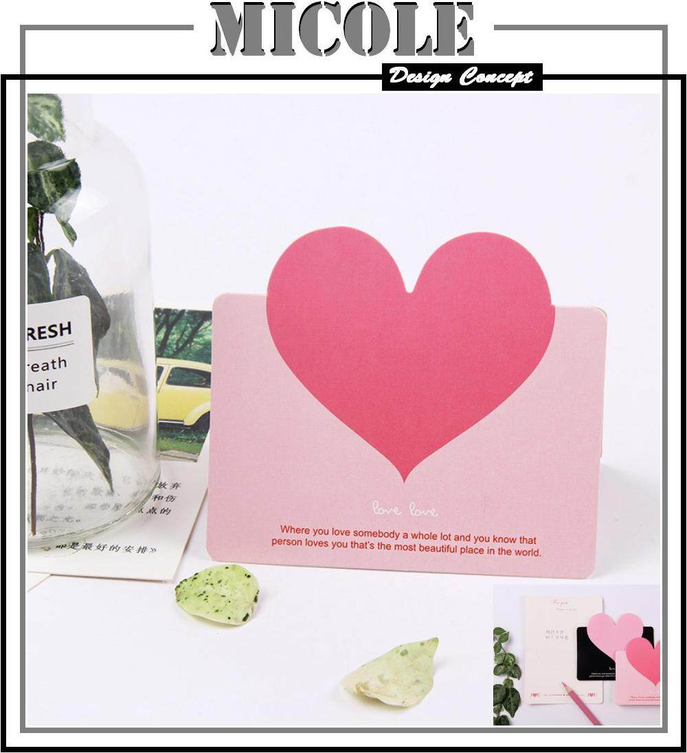 MICOLE G009 Mini Greeting Card Thank You Card Birthday Christmas Card