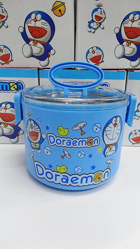[Ready Stock] 1 Layer Stainless Steel Cartoon Lunch Box (BGJAYA)-Doraemon