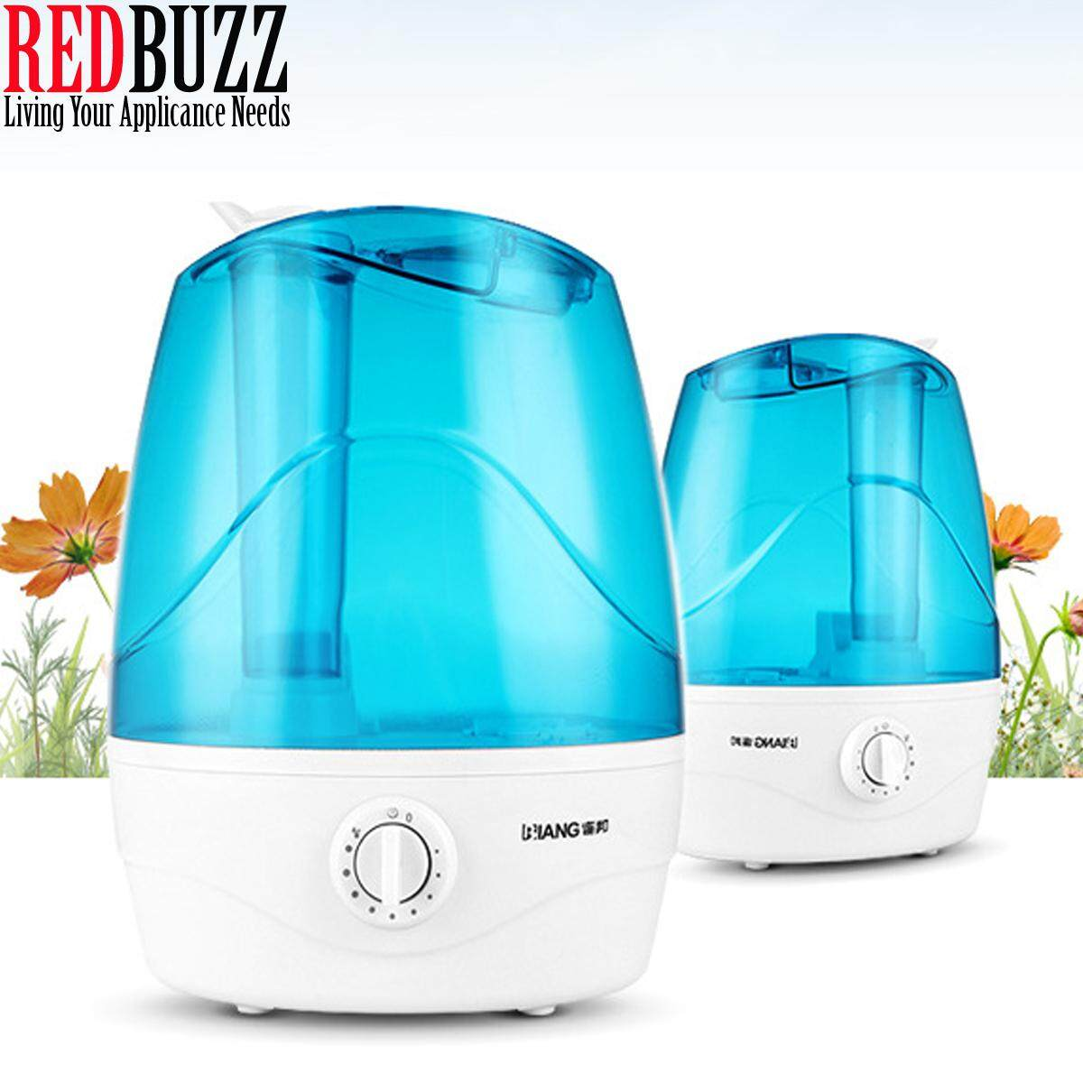 REDBUZZ Biang 3.3L Large Ultrasonic Humidifier Air Diffuser Cool Mist Purifier