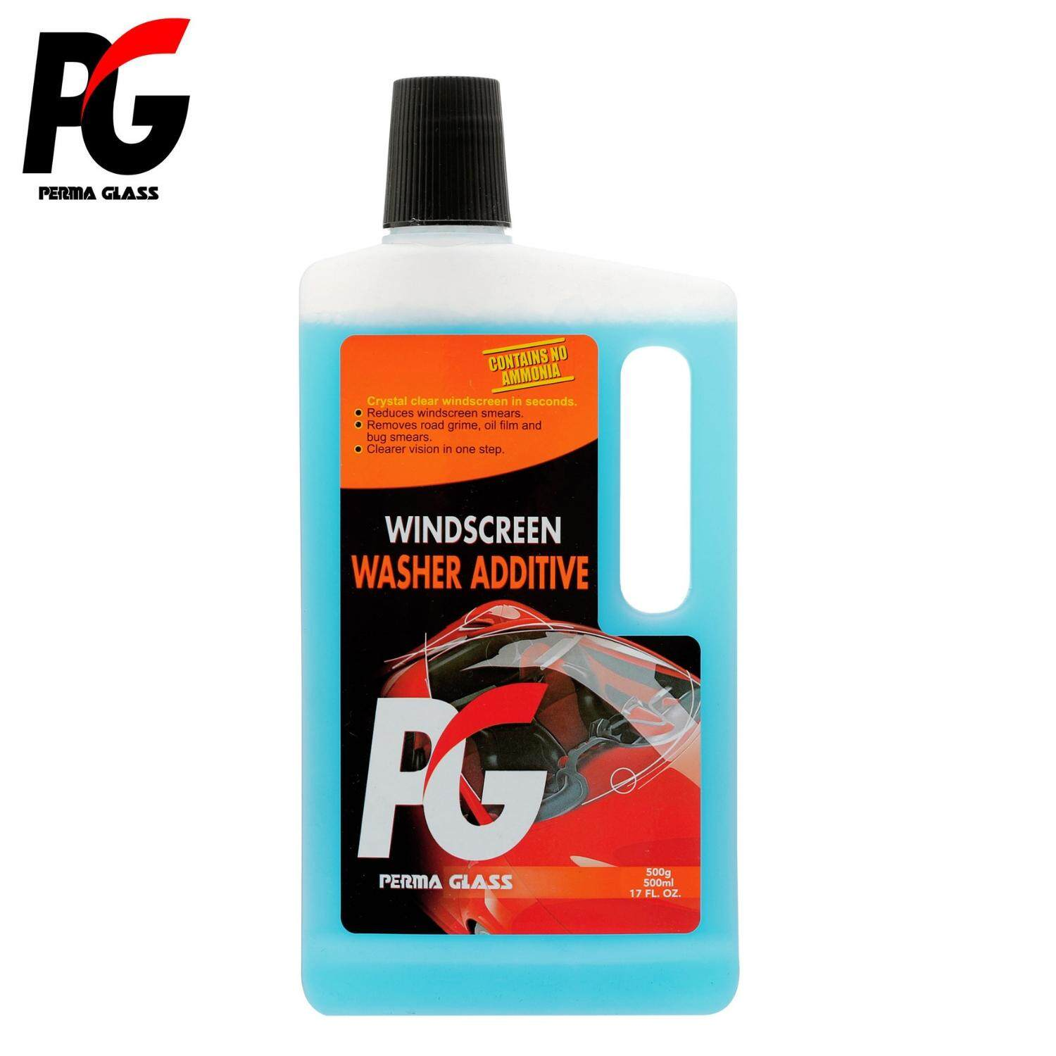 PG WINDSCREEN WASHER ADDITIVES (500ML) - CAR CARE EXTERIOR