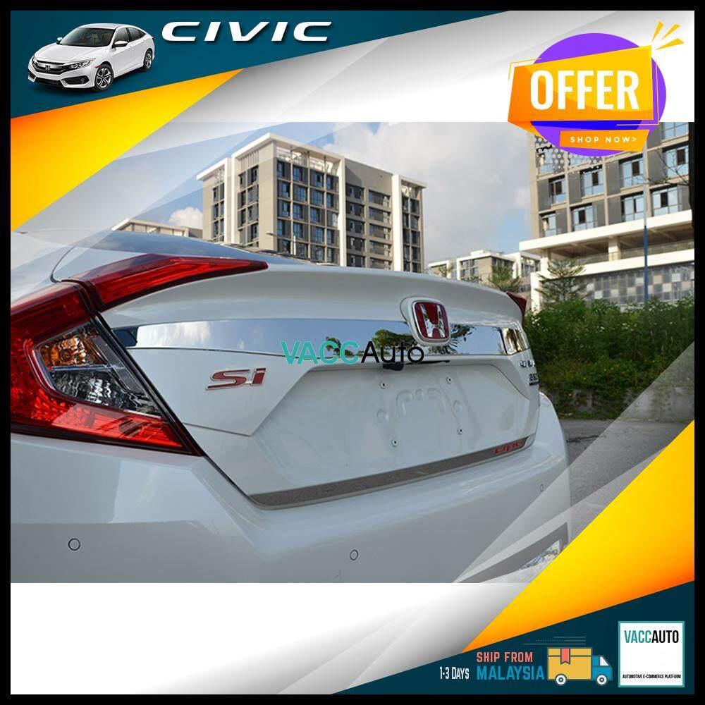 Honda Civic 2016-2019 Rear Chrome Bar