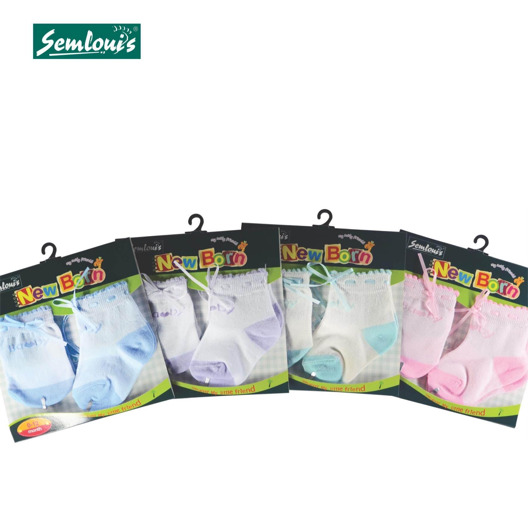Semlouis Baby Newborn Mittens & Socks Set - (0-1yr) Baby / PAIRS
