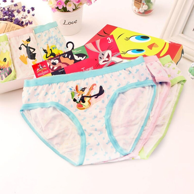 ❤3/6/9 PCS / Set❤High Quality Gilrls New Design Cotton Kids Underwear / panties