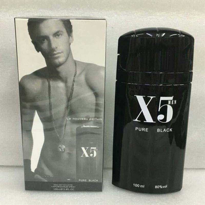 PURE BLACK X5 PERFUME FOR MEN 100ML