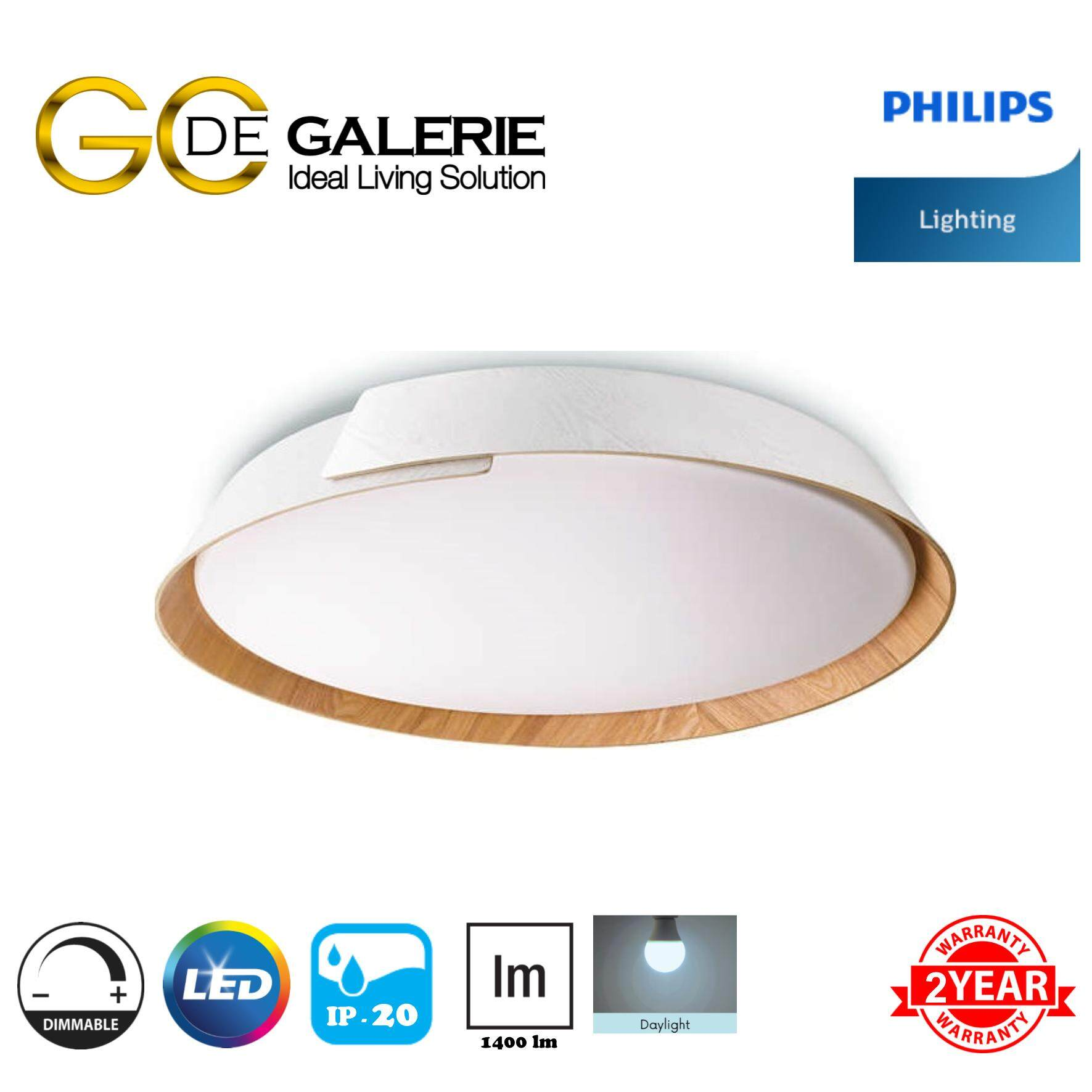 CEILING LIGHT LED PHILIPS 49020 EMBRACE WH