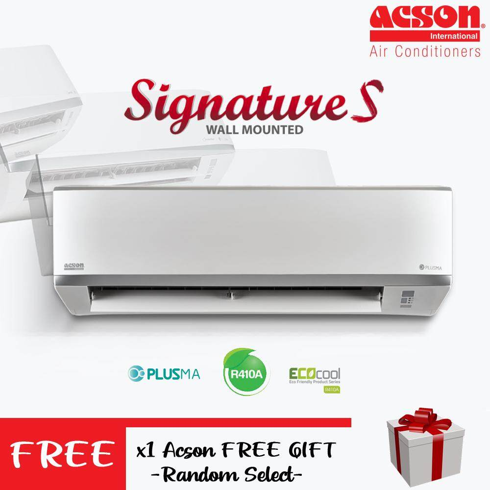 Acson 2.0hp R410A Air Conditioner Non-Inverter Signature S - A5WM20S2/A5LC20C