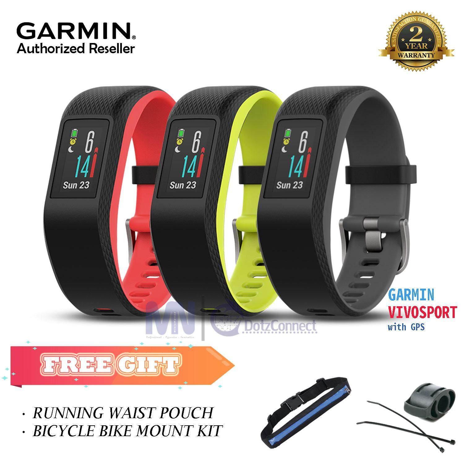 Garmin Vivosport Smart Activity Tracker with Wrist-based Heart Rate and GPS