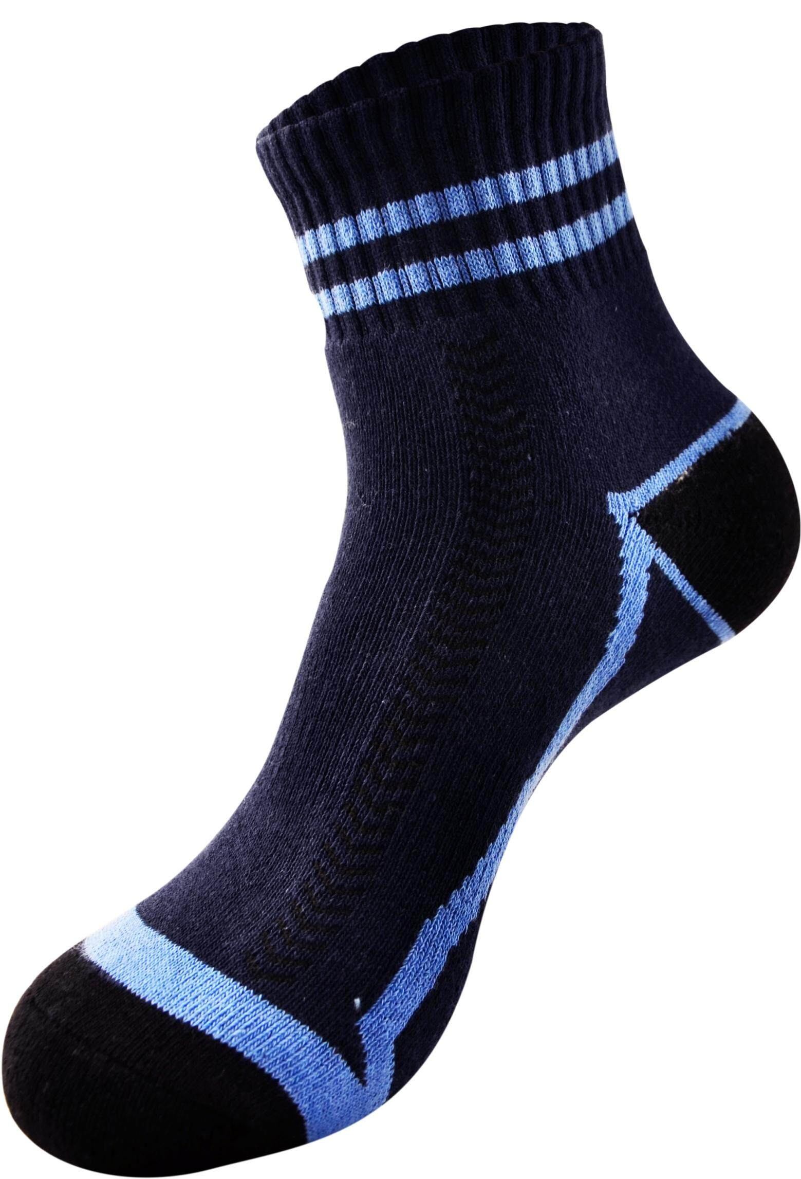 Sawks Sport Bamboo Charcoal Ankle Socks with Cushion Base - Active Design
