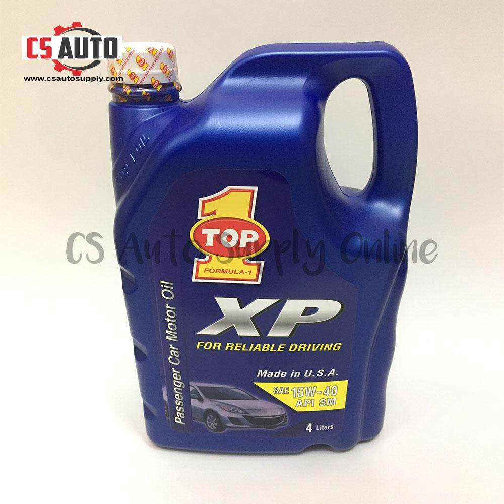 [CS auto] Top 1 Engine Oil 15W40 (Made in USA)