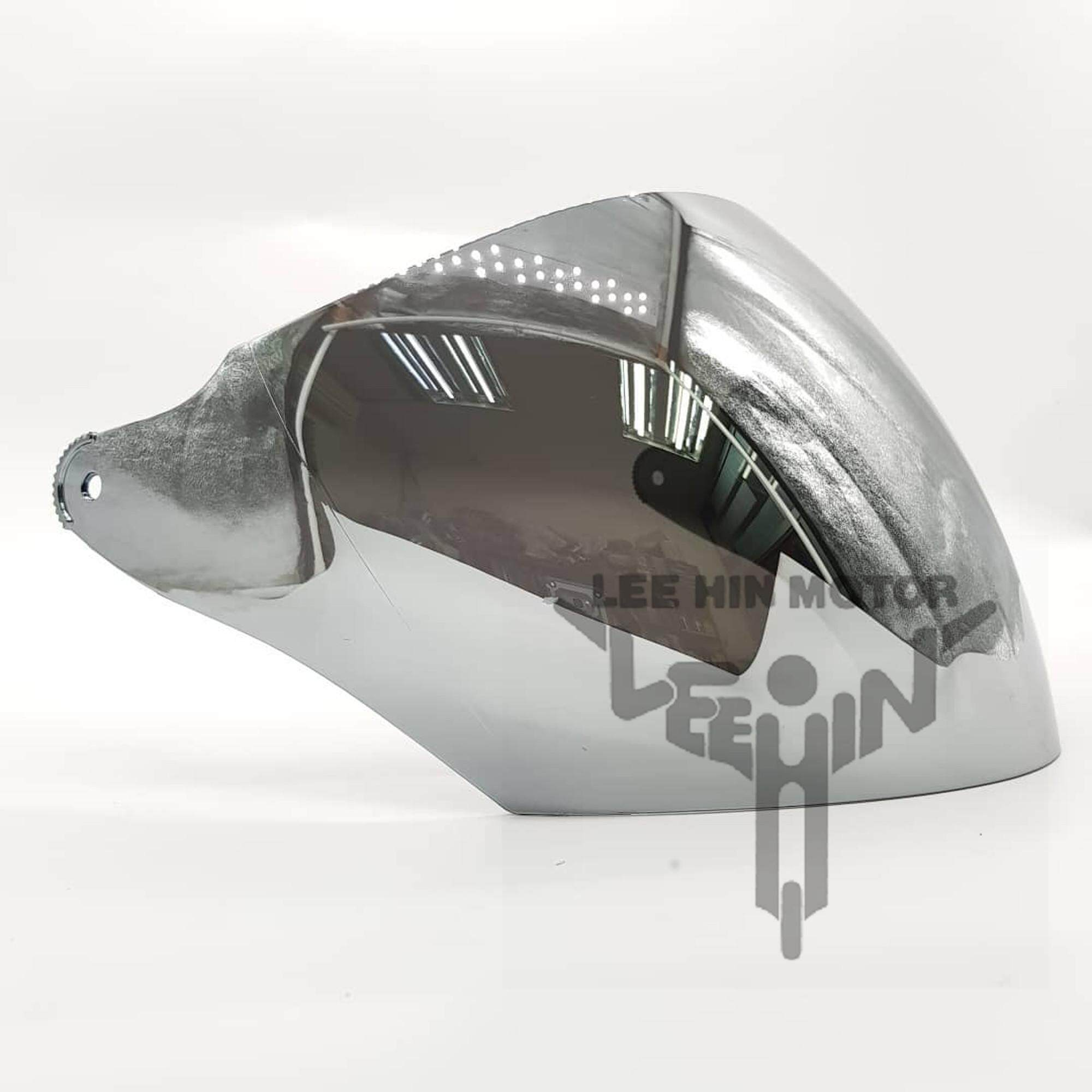 Original X-Dot G618N Visor (Chrome / Silver ), Chrome