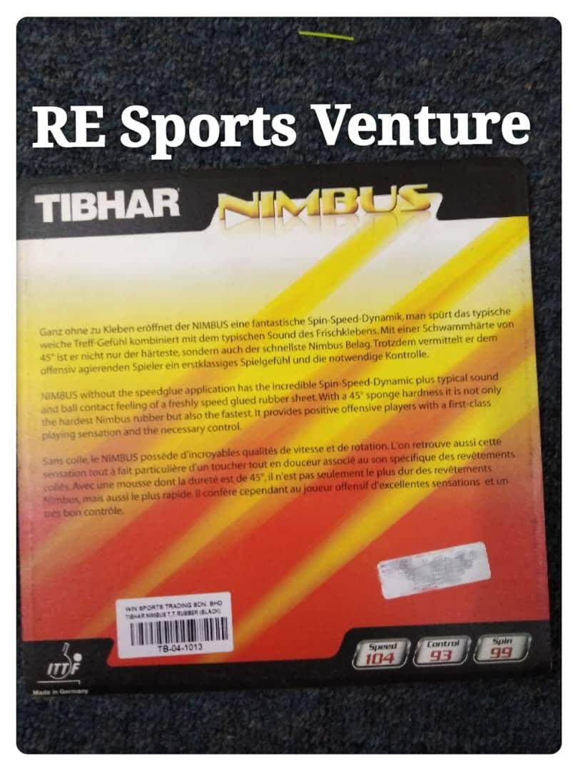 Tibhar Nimbus Table Tennis Rubber
