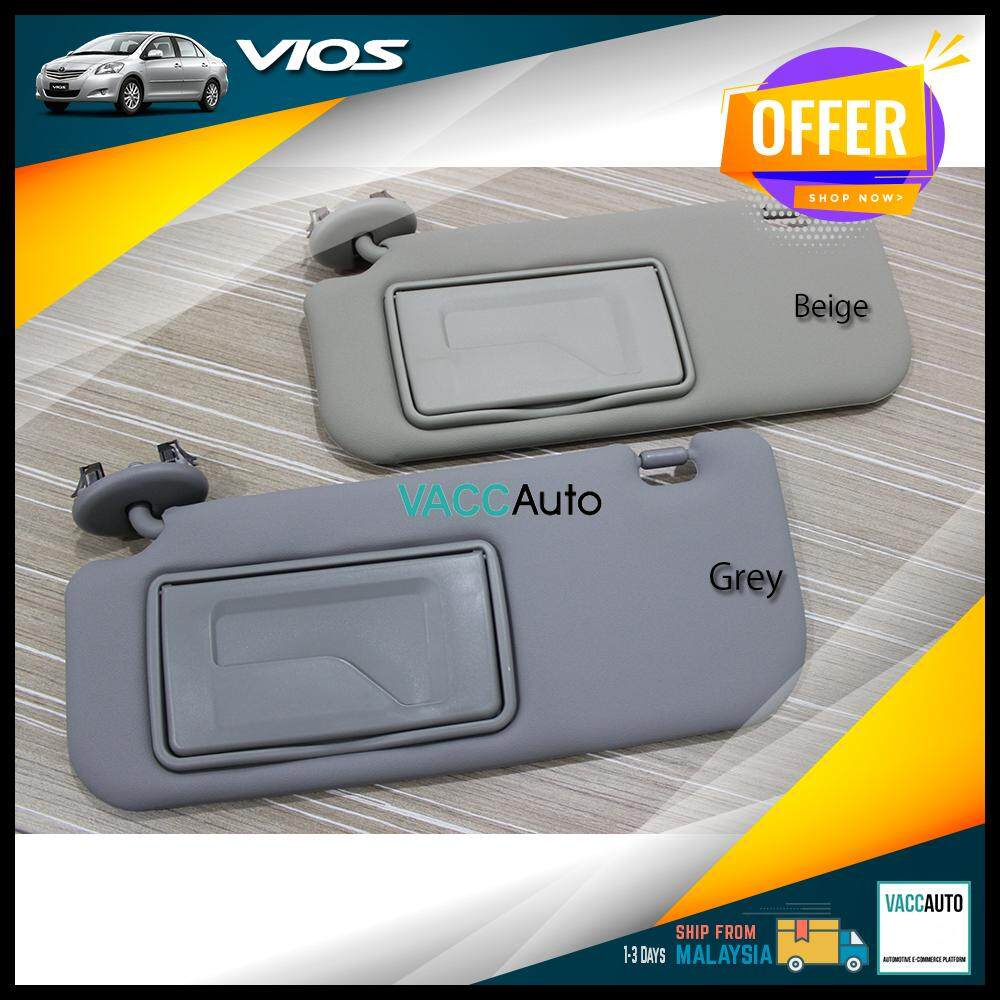 [Original] Toyota Vios Sun Visor with Mirror Vacc Auto Car Accessories Interior Consoles Protection Replace Part