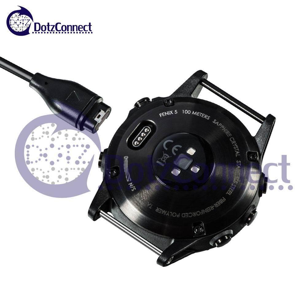 Dotzconnect 1M Charging & Data Cable for Garmin Fenix Series / Vivoactive 3 Series / Forerunner 245 / Forerunner 935 / Forerunner 945 / Quatix 5 / Descent MK1 / etc.