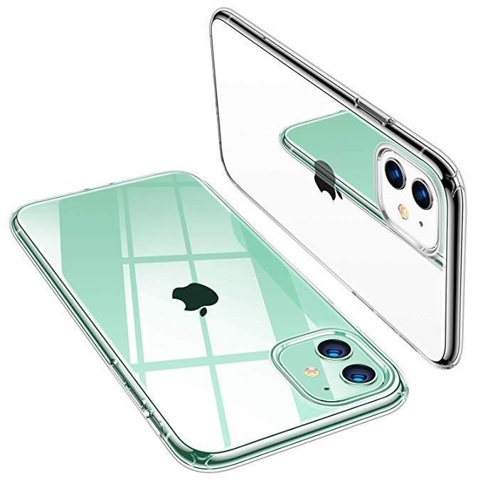 TPU Soft Gel Silicone Slim for iPhone 11 (Transparent)