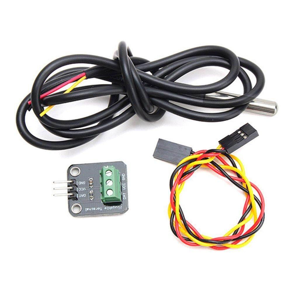 Bán Chạy nhất Ds18b20 Nhiệt Kế Nhiệt Độ Đầu Dò Cảm Biến Module Arduino Raspberry Pi
