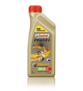 Castrol Power 1 4T Oil 10W40 API SN Semi Synthetic, POWER 1 10W40