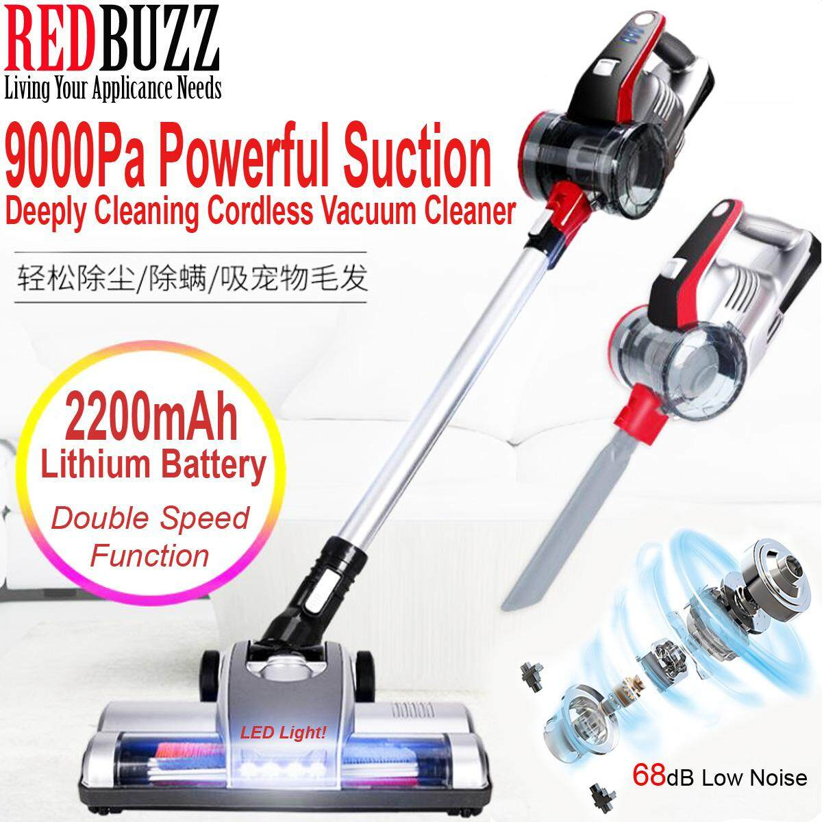 Wireless Cordless Vacuum S1705 9000Pa Powerful Suction Lightweight Cordless Handheld Vacuum Cleaner