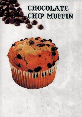Muffin - Chocolate Chip 30 pieces / set
