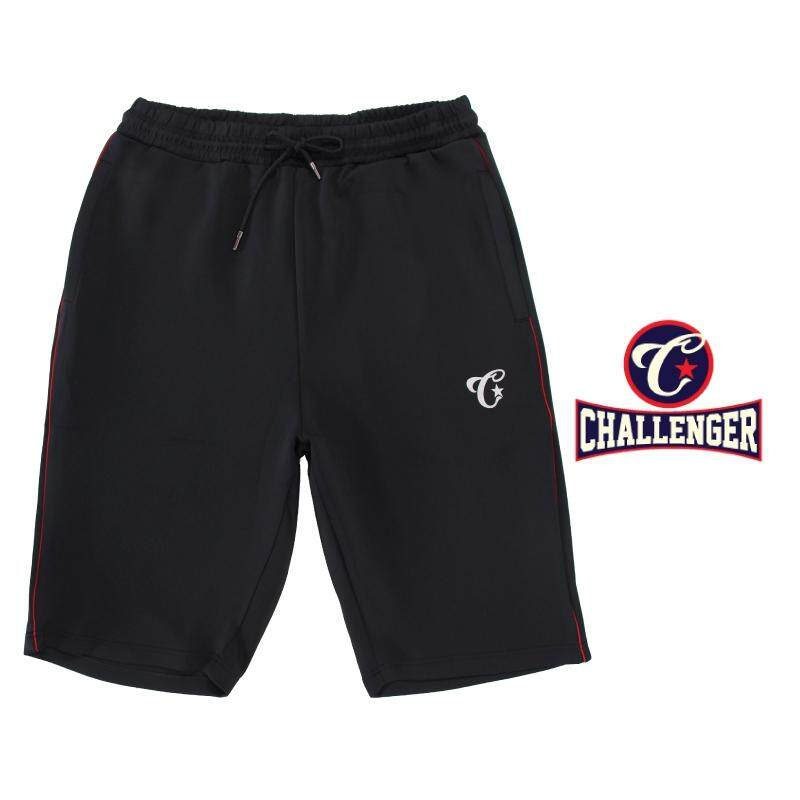 CHALLENGER BIG SIZE Microfiber Spandex SP With Piping CH5032 (Black)