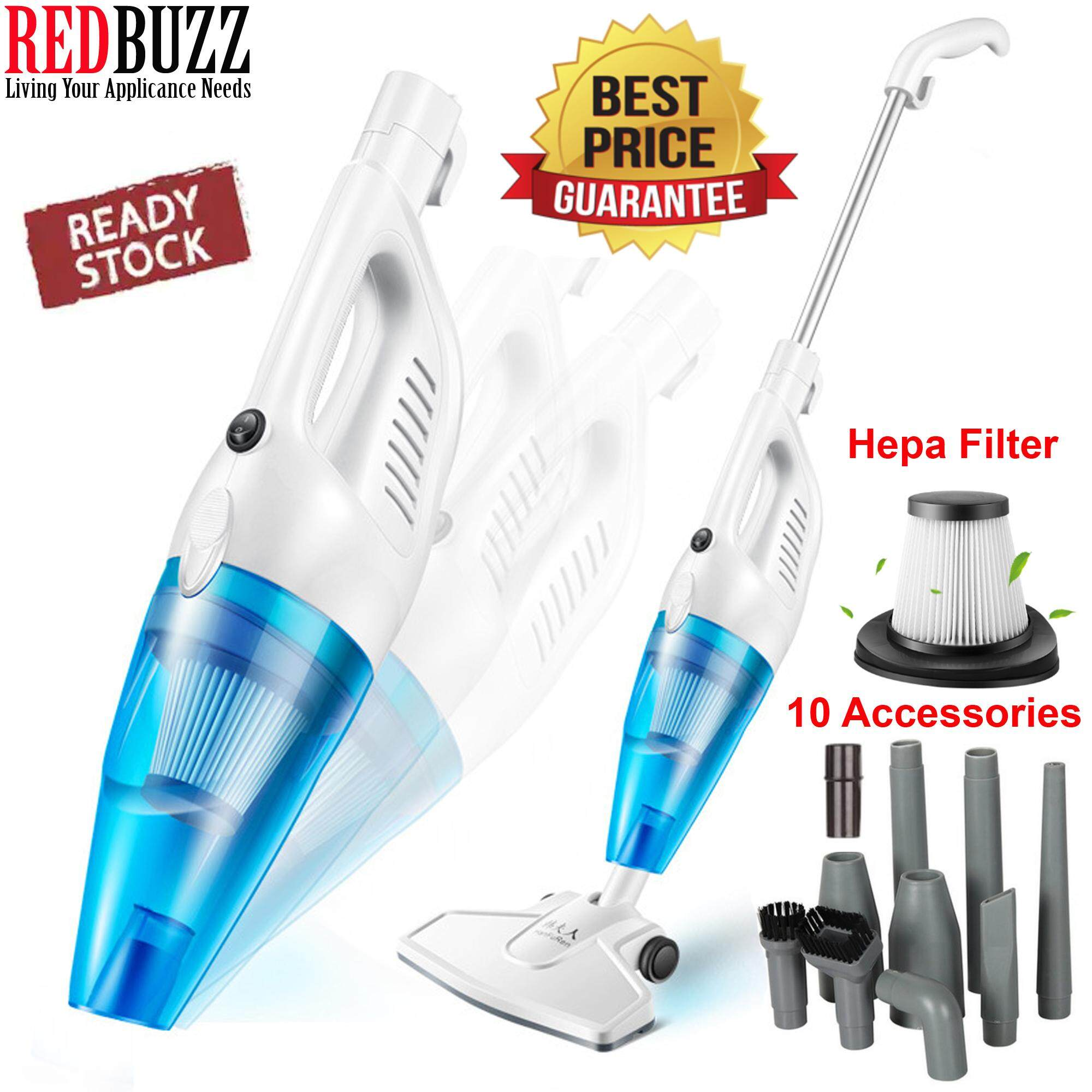 REDBUZZ 2in1 Powerful Suction 650W Portable Handheld Vacuum Cleaner Vacumn Cleaner.