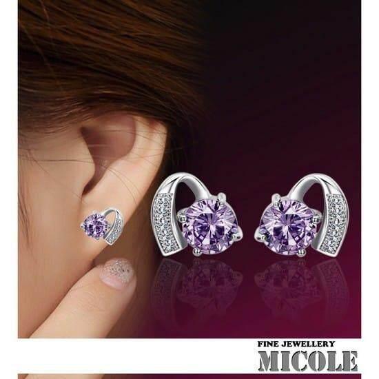 Micole E5004 Korean Style Women Elegant Earrings