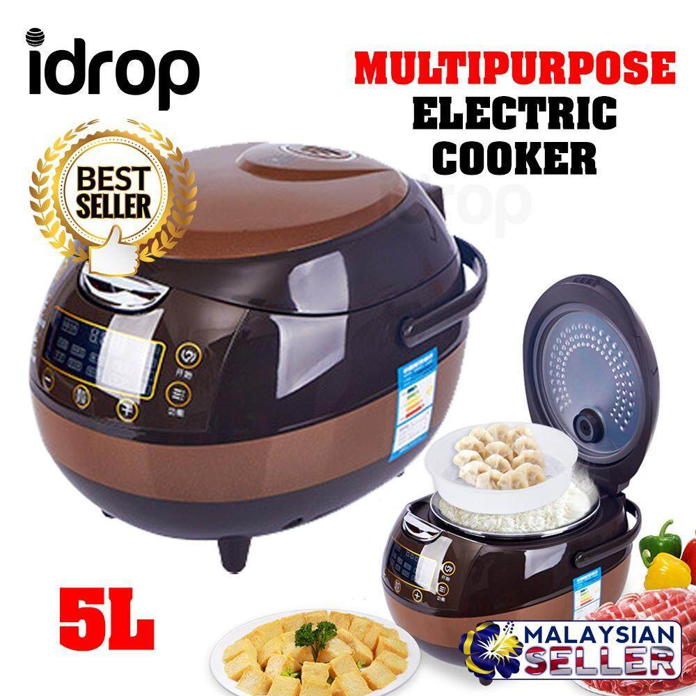 XIAOBAWANG - 5L Carbon Inner Multipurpose Smart Electric Rice Cooker
