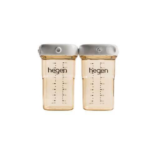 Hegen PCTO 240ml/8oz Breast Milk Storage PPSU x 2