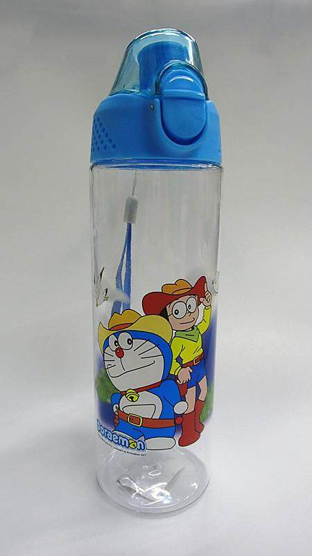 600ML Cartoon Water Bottle Drinking Bottle BPA Free Water Tumbler (BGJAYA)-Doraemon