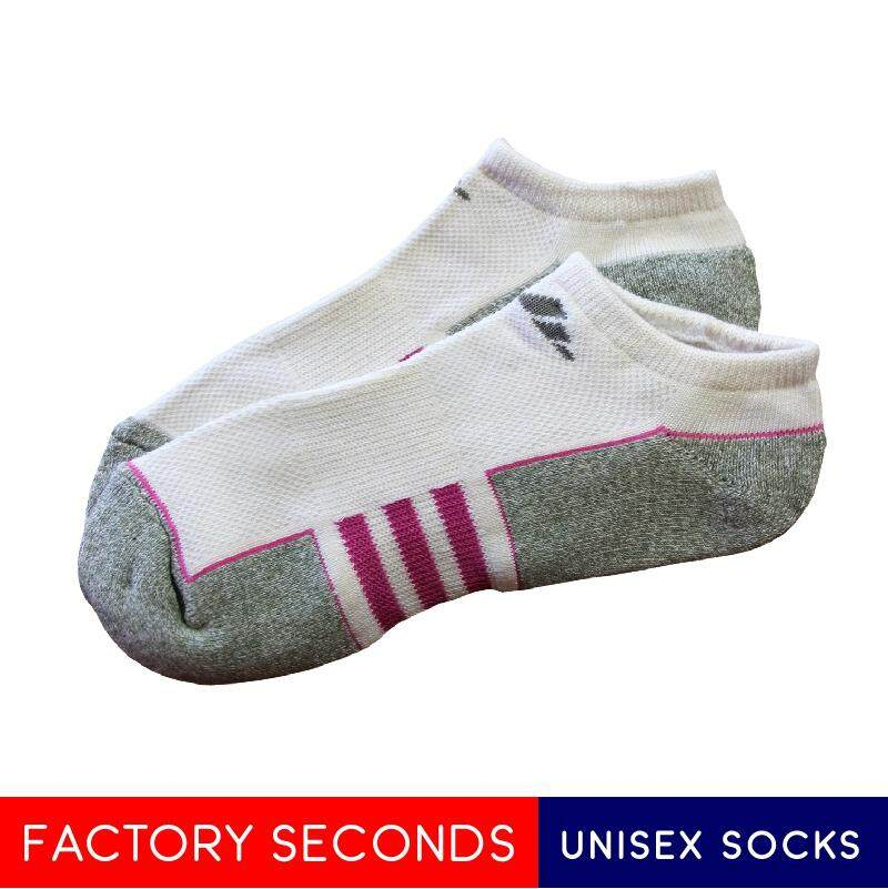 COMFORTABLE SOCKS FACTORY SECOND AS01 WHITE (M SIZE)