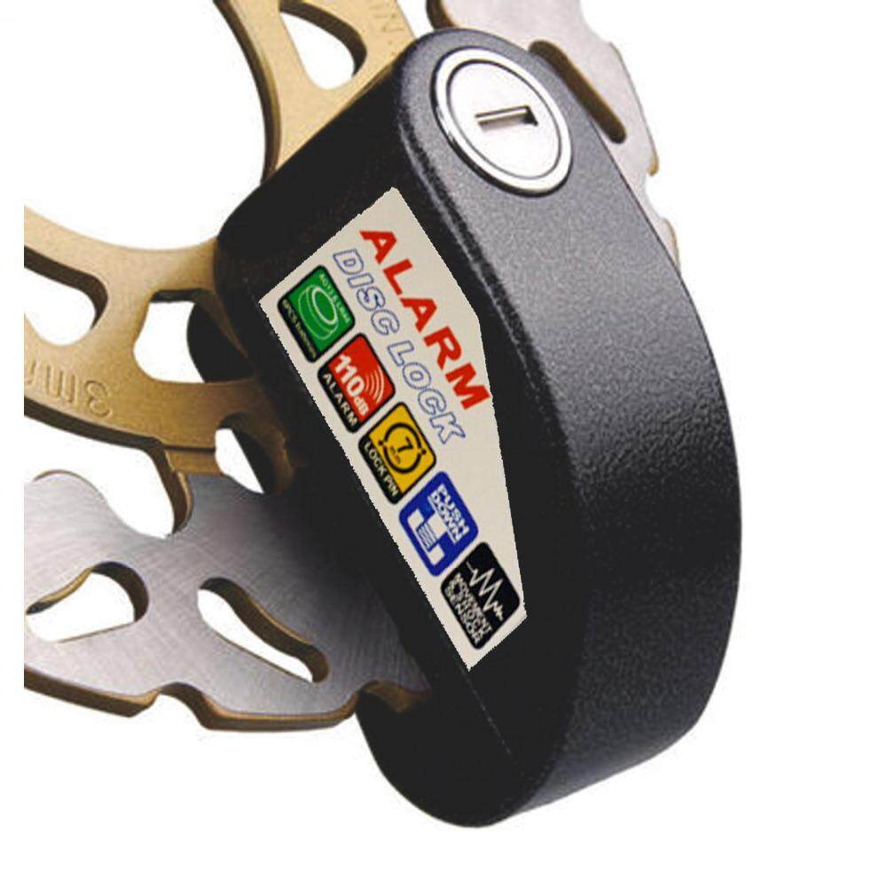 5 Star Premium Quality Anti-Theft Motorcycle Alarm Disc Lock