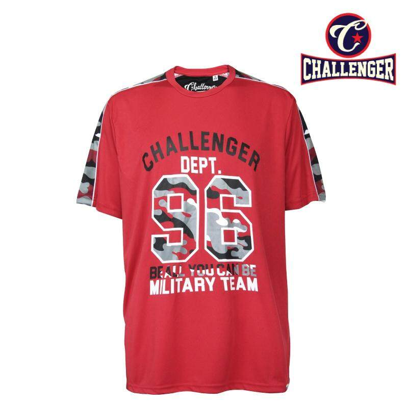 CHALLENGER BIG SIZE Airforce T-shirt CH1020 (Red)