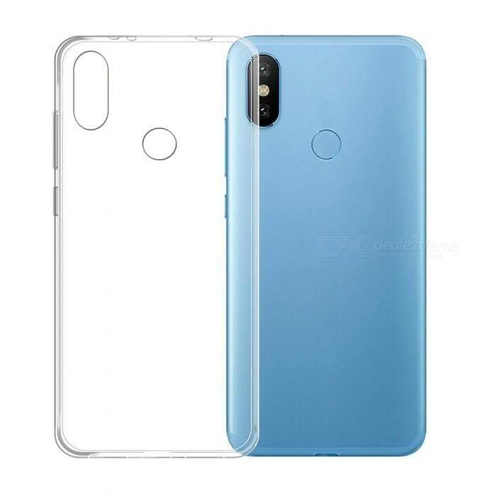 TPU Silicone Soft Gel Case for Xiaomi Redmi S2 (Transparent)