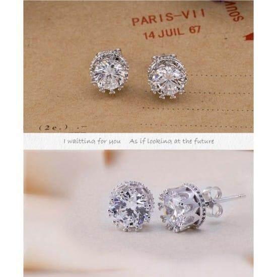 Micole E5024 Korean Style Women Elegant Earrings