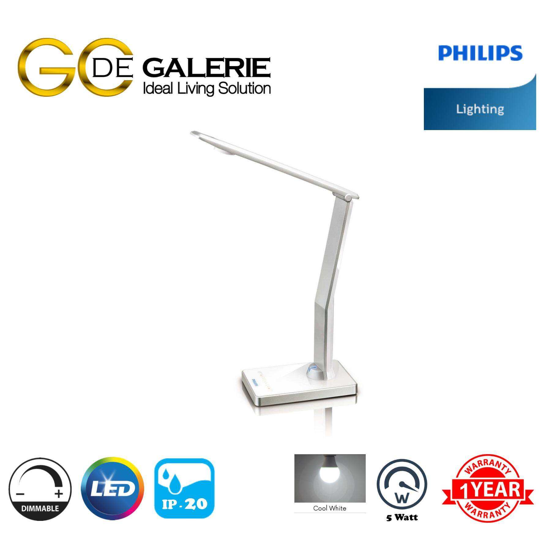 TABLE LAMP LED PHILIPS ICARE 69195/31 WH 1x5W
