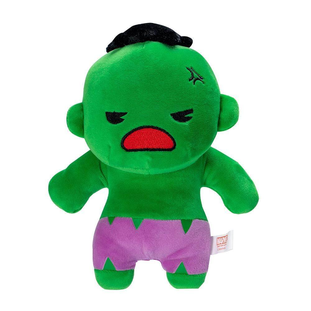 Beast Kingdom Marvel Kawaii 8 Plush Toy - Hulk (MK-PLH8-HK) - Mainan Kanak Kanak Lelaki