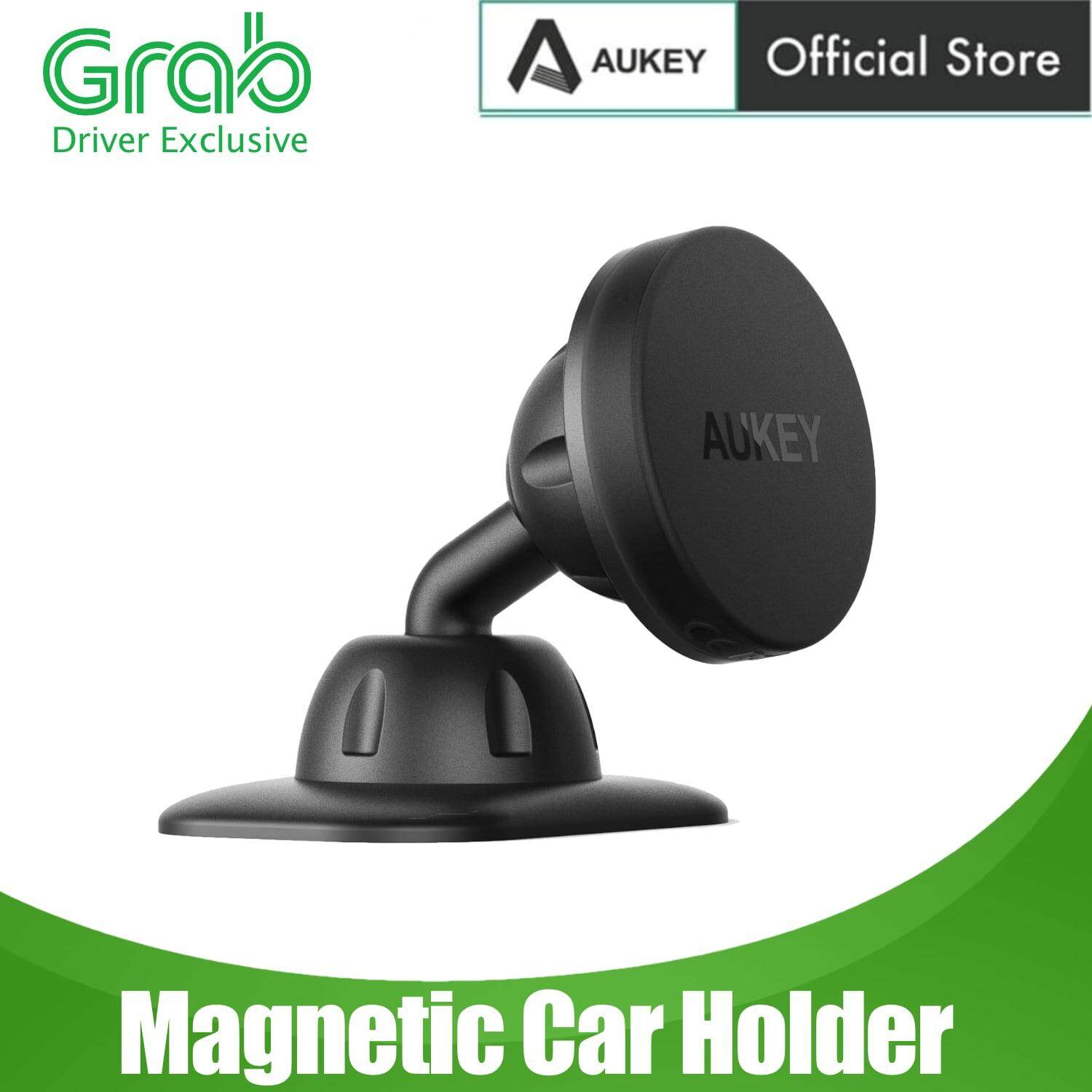 [12.12 Crazy Brand Mega Offers][GRAB DRIVER EXCLUSIVE] AUKEY HD-C13 Universal Dashboard Car Holder Mount Magnetic Phone Holder Cradle