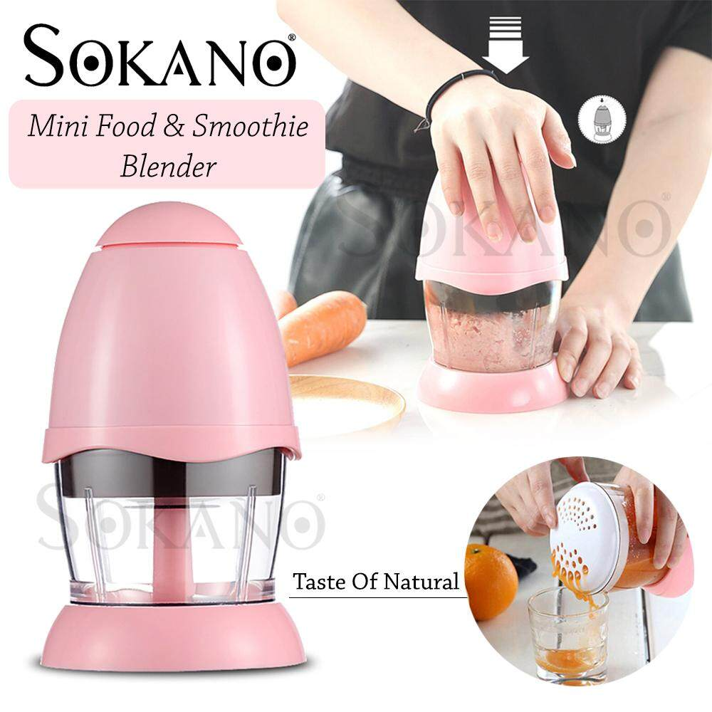 SOKANO RS586 Baby Food Blender Mini Chopper Food Processor Mini Blender Smoothie Maker for Baby Food