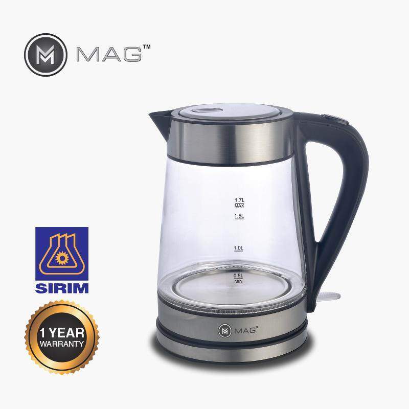 MAG GLASS KETTLE 1.7L