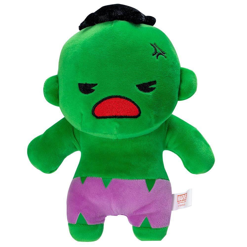 Beast Kingdom Marvel Kawaii 12 Plush Toy - Hulk (MK-PLH12-HK) - Mainan Kanak Kanak Lelaki