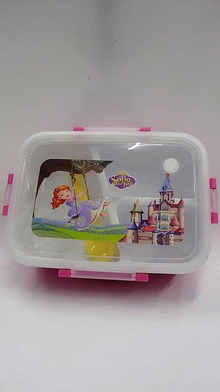 [Ready Stock] Cartoon Lunch Box Food Containers (BGJAYA)-Sofia the First